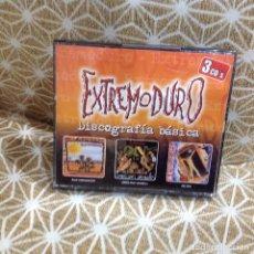 CDs de Música: EXTREMODURO - DISCOGRAFÍA BÁSICA: ROCK TRANSGRESIVO / SOMOS UNOS ANIMALES / DETOYA - 3XCDS. Lote 263913855