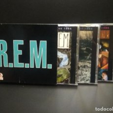 CDs de Música: REM THE TEARS OF IRS BOX/CD UK 1992 PDELUXE. Lote 264072060