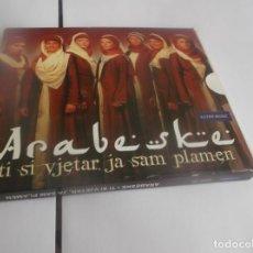 CDs de Música: ESTUCHE 2 CDS + ARABESKE - TÍ SÍ VJETAR,JA SAM PLAMEN - BOSNIA & HERZEGOVINA -2014. Lote 264073450