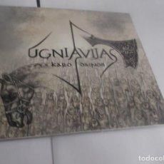 CDs de Música: CD(DIGIPACK).- UGNIAVIJAS - KARO DAINOS - 12 TEMAS (FOLK, WORLD, & COUNT) - DANGUS -LITHUANIA -2013. Lote 264076235