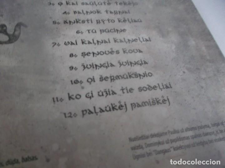 CDs de Música: CD(digipack).- UGNIAVIJAS - KARO DAINOS - 12 TEMAS (Folk, World, & Count) - DANGUS -LITHUANIA -2013 - Foto 3 - 264076235