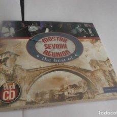 CDs de Música: ESTUCHE 2 CDS -MOSTAR SEVDAR REUNIÓN- 28 TEMAS (FOLK, WORLD, & COUNT) - BOSNIA & HERZEGOVINA-2013. Lote 264078535