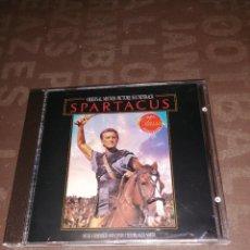 CD de Música: BSO ALEX NORTH, SPARTACUS. Lote 264104995