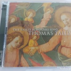 CDs de Música: THOMAS TALLIS / THE TALLIS SCHOLARS SING / DOBLE CD - GIMELL-2004 / 26 TEMAS / IMPECABLE.. Lote 264227424