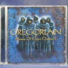 CD de Música: GREGORIAN - MASTERS OF CHANT CHAPTER II - CD. Lote 264240696