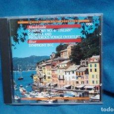 CDs de Música: MENDELSSOHN / BIZET - MICHELE AUDIO 1988. Lote 264254812