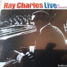 CDs de Música: RAY CHARLES LIVE IN CONCERT. Lote 264337608