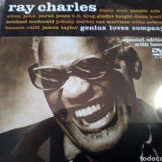 CDs de Música: RAY CHARLES DUETS NATALIE COLE , ELTON JOHN , B.B. KING , VAN MORRISON , MICHAEL MC DONALD , BONNIE. Lote 264347056