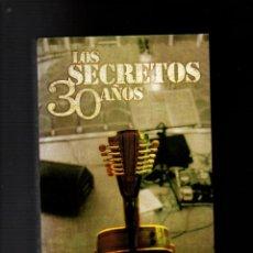 CDs de Música: LOS SECRETOS. 30 AÑOS. CONTIENE: 2 CD'S + 2 DVD'S + LIBRITO. WARNER MUSIC SPAIN 2007.. Lote 264362119