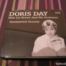 CDs de Música: CD DORIS DAY LES BROWN ORCH. SENTIMENTAL JOURNEY 2 CD´S. Lote 264420369
