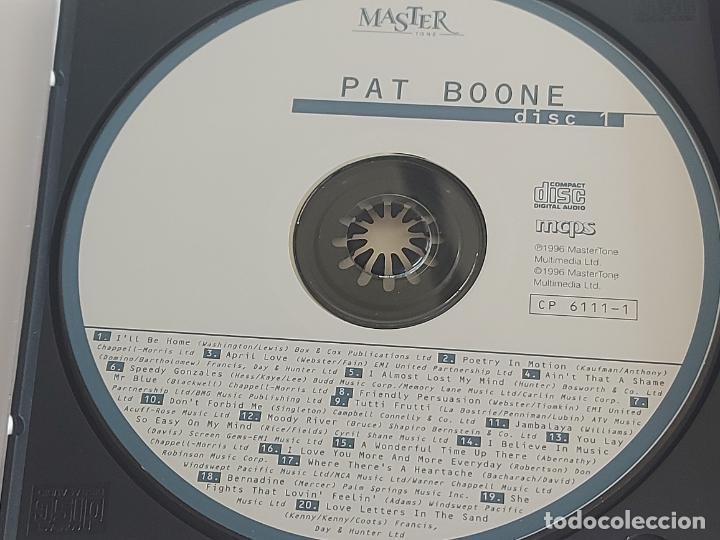 CDs de Música: PAT BOONE / ANDY WILLIAMS / DOBLE CD - MASTER TONE-1996 / 36 TEMAS / IMPECABLES. - Foto 2 - 264434949