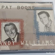 CDs de Música: PAT BOONE / ANDY WILLIAMS / DOBLE CD - MASTER TONE-1996 / 36 TEMAS / IMPECABLES.. Lote 264434949