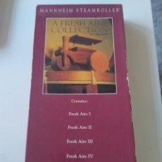 CD de Música: CAJA 4 CD A FRESH AIRE COLLECTION CHIP DAVIS. MANNHEIM STEAMROLLER. Lote 264441209