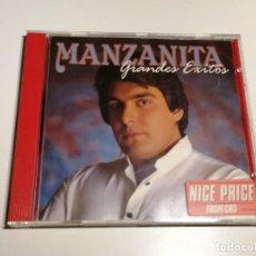 CDs de Música: MANZANITA GRANDES EXITOS CD. Lote 264471464