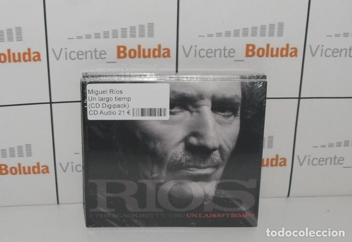 MIGUEL RÍOS UN LARGO TIEMPO (CD) NUEVO Y PRECINTADO ENVIÓ CERTIFICADO A ESPAÑA 2 € (Música - CD's Pop)