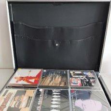 CDs de Música: MALETÍN DE MÚSICA / CONTIENE 48 CDS POP-ROCK / TODOS PRECINTADOS / VER LAS FOTOS ADJUNTAS.. Lote 264542049