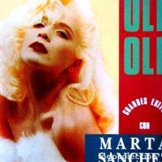 CD di Musica: MARTA SANCHEZ CON OLE OLE CD GRANDES EXITOS. Lote 264596044