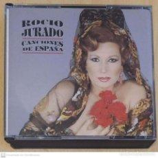 CDs de Música: ROCIO JURADO (CANCIONES DE ESPAÑA) 2 CD'S 1991. Lote 264696684