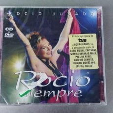 CDs de Música: ROCIO JURADO-CD + DVD-ROCIO SIEMPRE-PRECINTADO. Lote 264730204