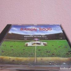 CDs de Música: EN DIRECTO-BARÓN ROJO - SIEMPRE ESTÁIS ALLÍ CD 1995. Lote 264731064
