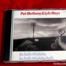 CDs de Música: AS FALLS WICHITA, SO WICHITA FALLS - PAT METHENY + LAYLE MAYS 1990. Lote 264801034