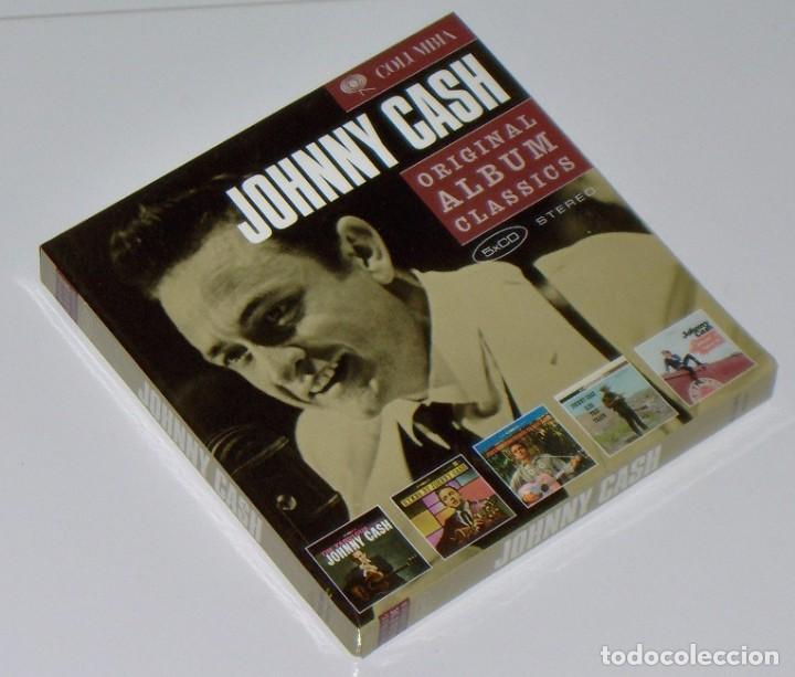 JOHNNY CASH: ORIGINAL ALBUM CLASSICS - 5 CD BOX SET (TODOS VERSIONES REMASTERIZADAS Y EXPANDIDAS) (Música - CD's Country y Folk)
