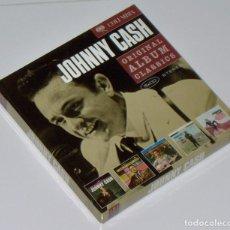CDs de Música: JOHNNY CASH: ORIGINAL ALBUM CLASSICS - 5 CD BOX SET (TODOS VERSIONES REMASTERIZADAS Y EXPANDIDAS). Lote 264575144