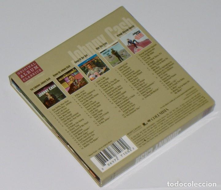 CDs de Música: Johnny Cash: Original Album Classics - 5 CD box set (todos versiones remasterizadas y expandidas) - Foto 2 - 264575144