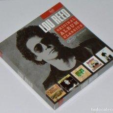 CDs de Música: LOU REED: ORIGINAL ALBUM CLASSICS - 5 CD BOX SET - TRANSFORMER, BERLIN, CONEY ISLAND BABY Y OTROS. Lote 264834979