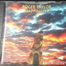 CDs de Música: ROGER TAYLOR HAPPINESS CD EXCELENTE QUEEN HOLLAND. Lote 264867199