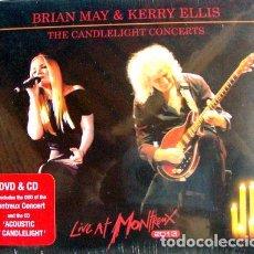 CDs de Música: DVD CD BRIAN MAY KERRY ELLIS LIVE AT MONTREUX. Lote 265081259