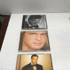 CDs de Música: LOTE 3 CD'S LUIS MIGUEL ROMANCES - 33 - MIS ROMANCES. Lote 265134604