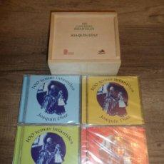 CDs de Música: JOAQUIN DIAZ - 100 TEMAS INFANTILES VOL 1, 2, 3 Y 4 (PRECINTADOS). Lote 265212569