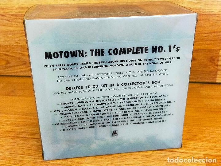 CDs de Música: MOTOWN: THE COMPLETE NO. 1S BOX SET 10 CDS + LIBRO 100 PAGINAS - MUY LIMITADO Y DESCATALOGADA - Foto 3 - 265216544