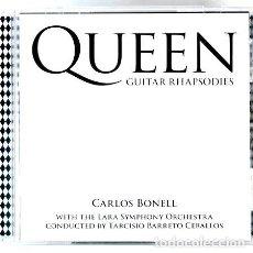 CDs de Música: QUEEN GUITAR RHAPSODIES CARLOS BONELL BRIAN MAY IMPORTADO. Lote 265242074