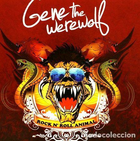 GENE THE WEREWOLF ROCK N ROLL ANIMAL CD NUEVO NAC ICARUS (Música - CD's Heavy Metal)