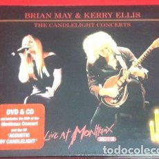 CDs de Música: BRIAN MAY KERRY ELLIS THE CANDLELIGHT CONCERTS CDDVD. Lote 265318869