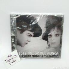 CDs de Música: PEDRO MORENO VIOLETA - 2012 MEJOR QUE NUNCA (PRECINTADO) - CARELI RECORDS, LA BURRA. Lote 265334789