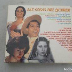 CDs de Música: CD - PACK 3 CD - LAS COSAS DEL QUERER - CANCIONERO DE ESPAÑA - COPLAS INOLVIDABLES. Lote 265351739