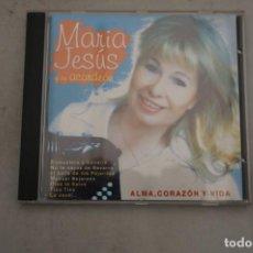 CDs de Música: CD - MARIA JESUS Y SU ACORDEON - ALMA CORAZON Y VIDA. Lote 265353909