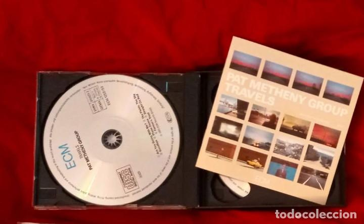 CDs de Música: TRAVELS - DOBLE CD - PAT METHENY GROUP 1983 - Foto 3 - 265359249