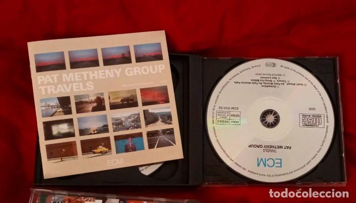 CDs de Música: TRAVELS - DOBLE CD - PAT METHENY GROUP 1983 - Foto 4 - 265359249