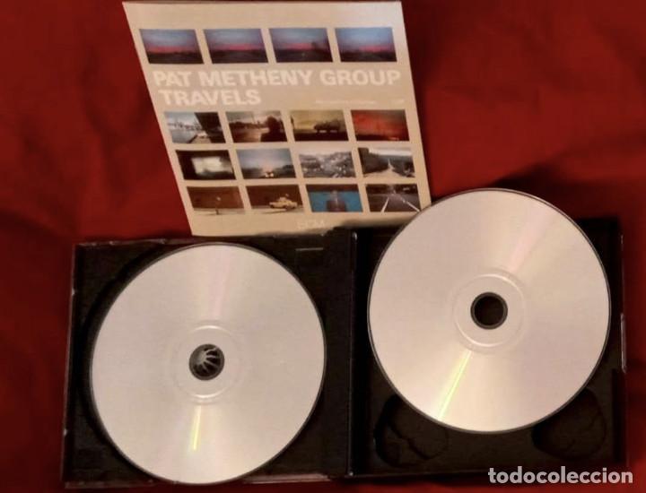 CDs de Música: TRAVELS - DOBLE CD - PAT METHENY GROUP 1983 - Foto 5 - 265359249