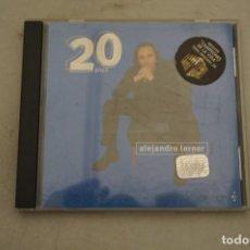 CDs de Música: CD - ALEJANDRO LERNER - 20 AÑOS. Lote 265412389