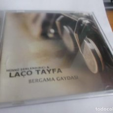 CDs de Música: CD .- HÜSNÜ SENLENDIRICI & LAÇO TAYFA -BERGAMA GAYDASI - 11 TEMAS - DOUBLEMOON 2000. Lote 265565809