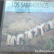 CDs de Música: CD LOS SABANDENOS ESPANA ONDA CHUNGUITOS SABINA SERRAT. Lote 265586604