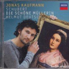 CDs de Música: JONAS KAUFMANN - FRANZ SCHUBERT - DIE SCHONE MULLERIN - CD - DECCA. Lote 265751739