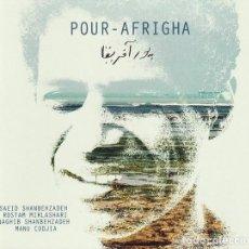 CDs de Música: SAEID SHANBEHZADEH, ROSTAM MIRLASHARI, NAGHIB SHANBEHZADEH, MANU CODJIA – POUR-AFRIGHA (CD). Lote 265752909