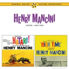 CDs de Música: HENRY MANCINI - HATARI! / HIGH TIME. Lote 265817254