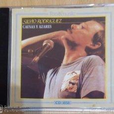 CDs de Música: SILVIO RODRIGUEZ (CAUSAS Y AZARES) CD 1991. Lote 265823399